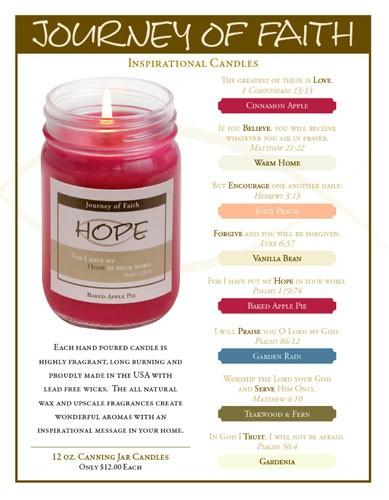 Faith Candle Fundraising
